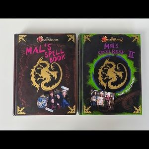 Original Disney Descendants Mal Spell Books I & II